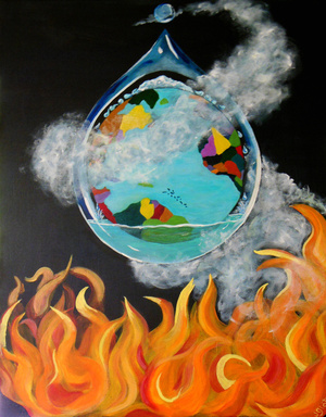 Boiling Point by Janet Glatz Eco Artist
