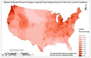 Places That Will Flood More Often Due to Global Warming