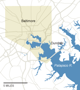 What Could Disappear - coastal and low-lying areas that would be permanently flooded #climatechange