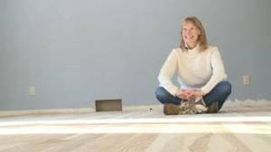 Local, dead timber recycled into hard wood floors