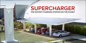 Tesla is trying to build a national supercharger route between LA & NY by end of year