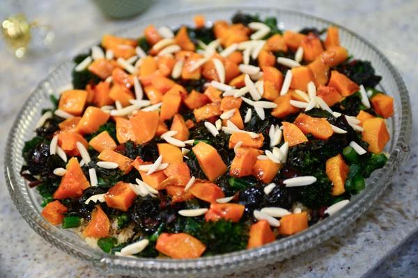 Warm Winter Quinoa Salad