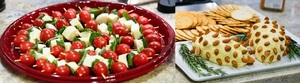 Colorful Christmas Appetizers