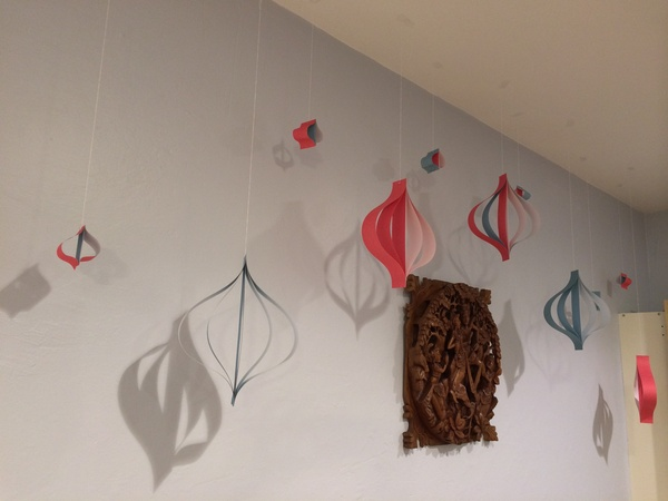 Whimsical Paper Hangings