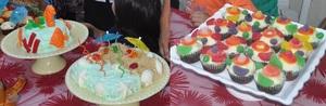 Beach & Under the sea themed Birthday Cakes