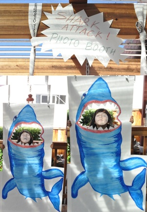 Shark Attack Photo Booth