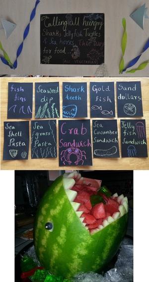 Reusable Chalk Board Food Tags