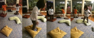 Active Indoor Play - Pillow Jump