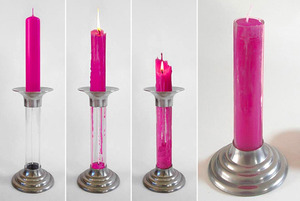 Regenerative Candle Forms New Ones As It Melts - PSFK
