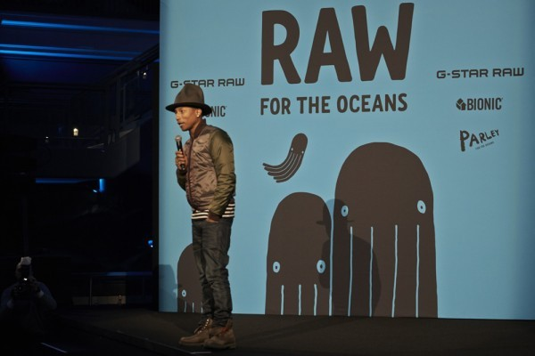 Pharrell Williams Launches Denim Line Made From Recycled Ocean Debris