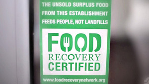 New certification tells you which restaurants give extra food to those in need #foodwaste
