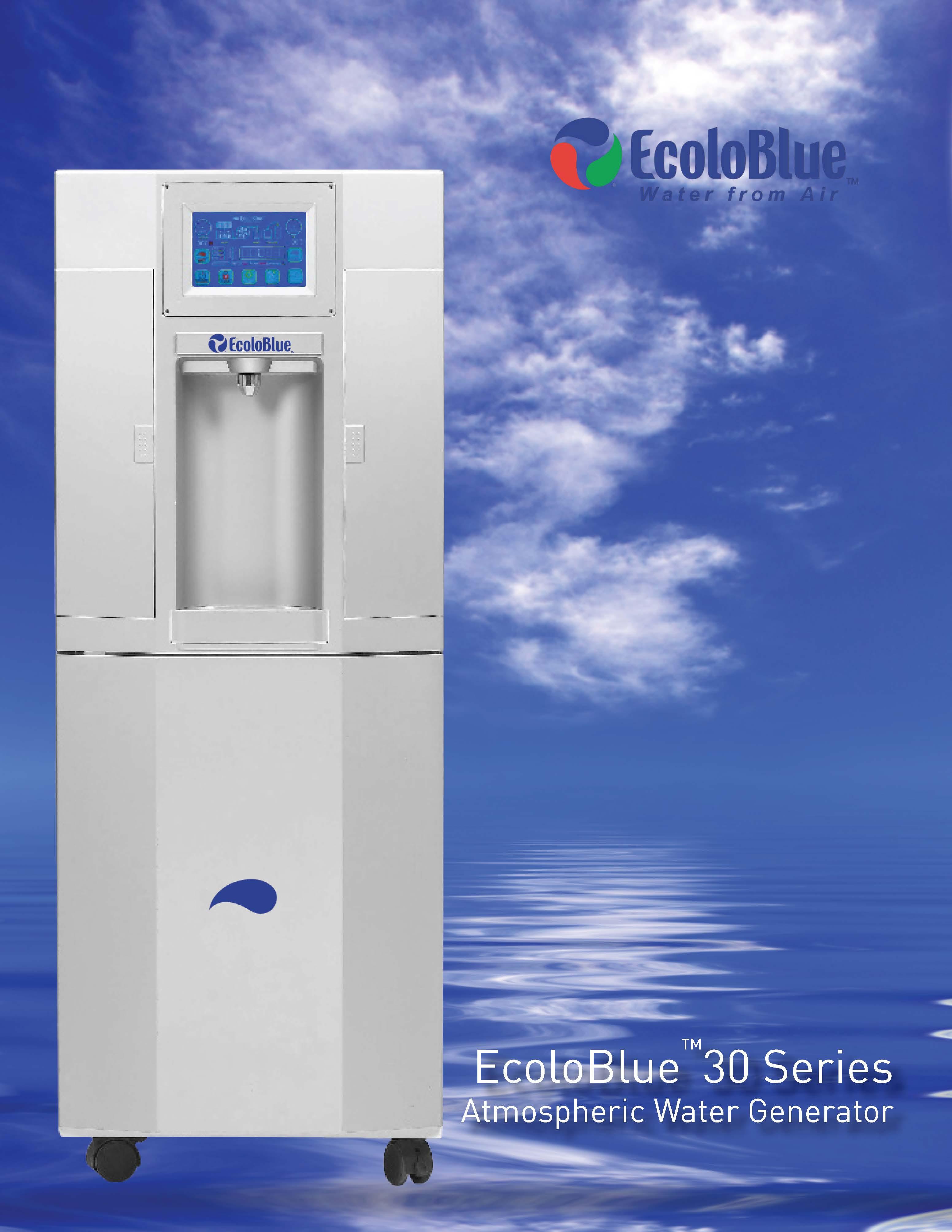 EcoloBlue 30 Series Atmospheric Water Generators