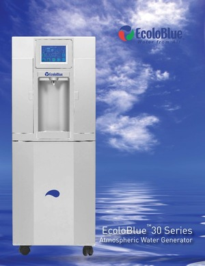 EcoloBlue 30 Series Atmospheric Water Generators