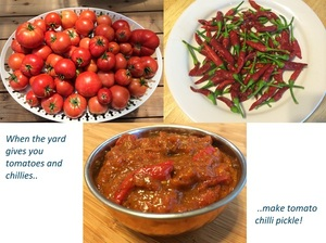 Tomato Chilli Pickle
