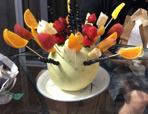 Fruit Arrangement for a Special Breakfast - Father's Day