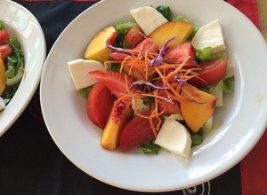 A Colorful Fruit and Veggie Salad