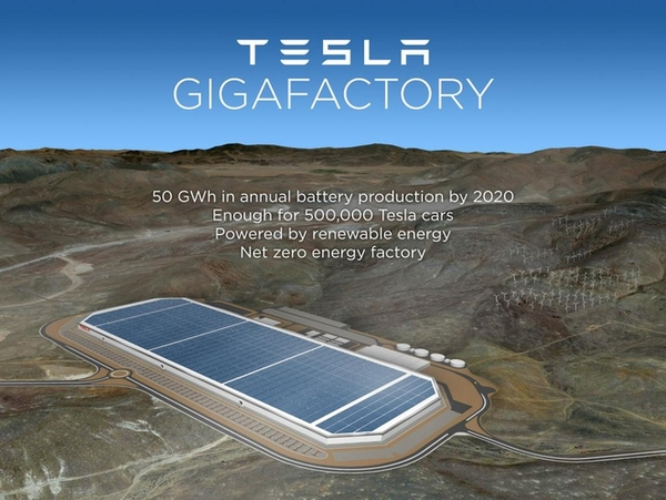 Tesla's $5bn Gigafactory looks even cooler than expected, will create 22,000 jobs