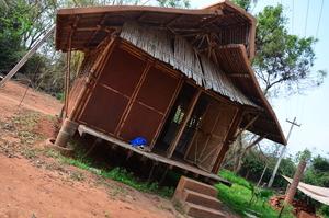 Mud and Bamboo construction