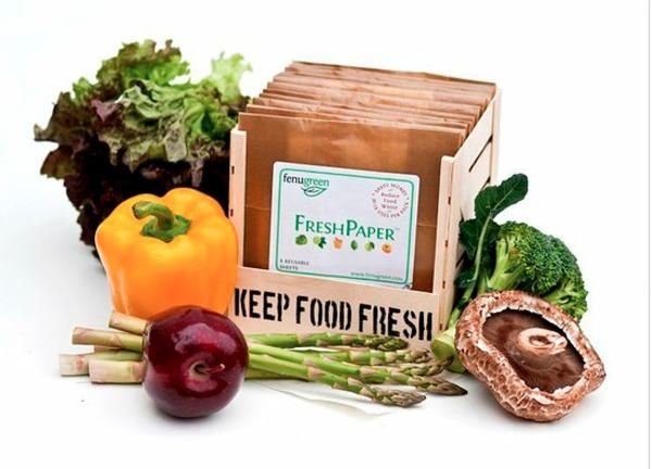 FreshPaper from @fenugreen- keeps fruits & veggies fresh for 2-4 times longer, organically.