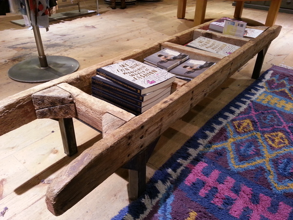 Very cool coffee table  @Anthropologie in Santana Row, San Jose