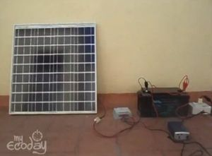 Make your first solar power system at home