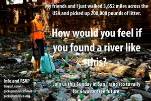 @PickUpAmerica is the nation's first coast-to-coast roadside litter pick-up program