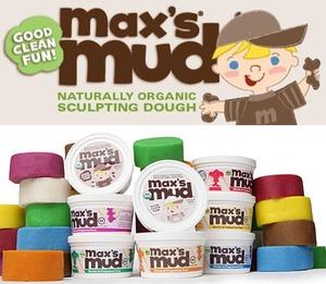 Max's Mud - Organic and gluten-free sculpting dough