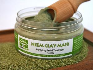 Natural Neem Clay Mask