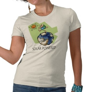 Ready for a solar powered t-shirt?
