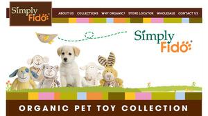 Organic dog toys