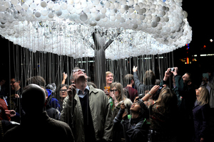 Another kind of CLOUD made of 5000 burnt-out light bulbs
