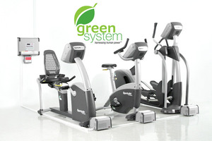 Green Fitness - @SportsArt offsetting power costs with human energy