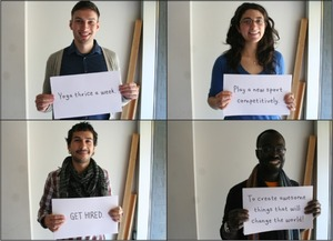 Love this idea from the  Toronto Service Jam 2012 @gsjam