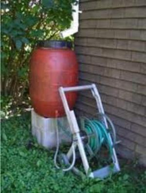 great way to harvest rain water