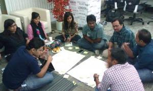 Bangalore service jam 2012 - projekt Khushi @adese  @_bipul