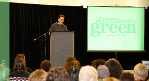 @teensturngreen -  mobilizing youth on environmental sustainability