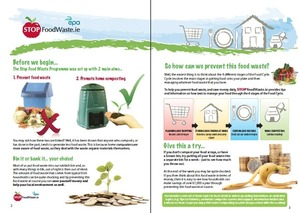 Stop Food Waste - waste prevention & waste management tip