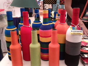 Wine bottles now have a colorful 2nd life!