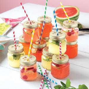 Mason Jar Tumblers - Reusable drink cups at kids parties