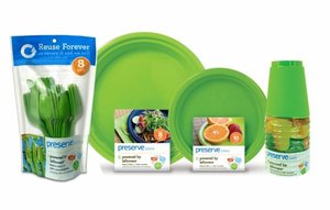 Preserve reusable eco-friendly party products