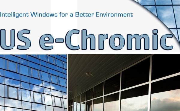 US e-Chromic @usechromic - electrochromic thin film for retrofitting existing windows