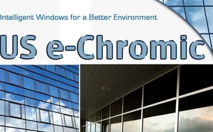 US e-Chromic @usechromic - electrochromic thin film for retrofitting existing windows
