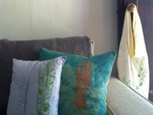 Crafters repurpose vintage and everyday finds for a greener approach