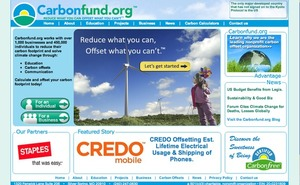 Carbonfund.org - Reduce what you can Offset what you can't