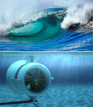 Marine and Hydrokinetic Technology - power from waves, tides or ocean currents