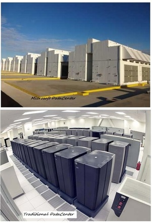Microsoft Roofless DataCenter - Natural air cooling