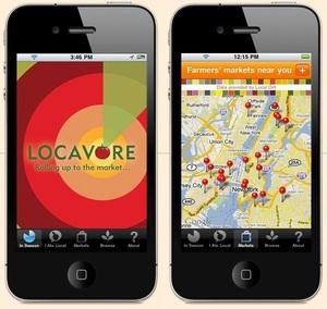 Locavore app - find local, in-season food