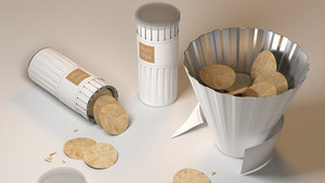 Bloom Chips - packaging design that can reduce waste ..