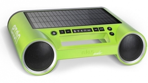 rukus Solar - solar-powered, on-the-go, wireless sound system