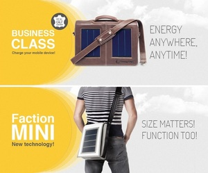 SunnyBAG - your personal mobile power station - sun powered